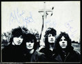 Music Memorabilia:Autographs and Signed Items, Badfinger Signed Concert Program (1970)....