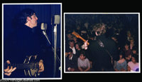 The Beatles: John Lennon & Paul McCartney Photographs, 1960-61. Lot of two (2) 11 x 14 color matte-finish photograph...