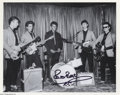 Music Memorabilia:Autographs and Signed Items, The Beatles: Stu Sutcliffe and Pete Best.... (2 Items)