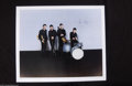 Music Memorabilia:Autographs and Signed Items, The Beatles: Pete Best Signed Lithograph....