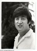 Music Memorabilia:Photos, The Beatles: John Lennon Original Dezo Hoffman Photograph....