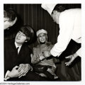 Music Memorabilia:Photos, The Beatles: Vintage Dezo Hoffman Photograph featuring John andCynthia Lennon....