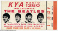 Music Memorabilia:Ephemera, The Beatles: Original Ticket for Last Concert - 8-29-66 -Candlestick Park....