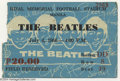 Music Memorabilia:Ephemera, The Beatles Concert Ticket - 7/4/1966 - Manila....