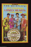 Music Memorabilia:Posters, The Beatles: Sgt. Pepper's Re-Release Promo Poster (1982)....