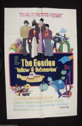 Music Memorabilia:Posters, The Beatles: Original Yellow Submarine 1-Sheet (1968)....