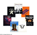 Music Memorabilia:Miscellaneous, The Beatles: Press Kit Collection from The Solo Years.... (7 Items)