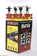 Music Memorabilia:Ephemera, The Beatles: Original Help/A Hard Day's Night Video Display....