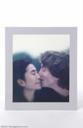 "Music Memorabilia:Photos, The Beatles: John Lennon & Yoko Ono Promotional Prints for""Milk and Honey"" (1983).... (5 Items)"