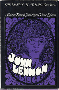 """The Beatles: John Lennon Signed Book - The Lennon Play: In His Own Write - 1968. First edition signed book, """"The Le..."""
