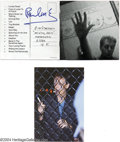 Music Memorabilia:Autographs and Signed Items, The Beatles: Paul McCartney Signed CD Booklet.... (2 Items)