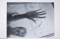 "The Beatles: Paul McCartney Signed ""Driving Rain"" Promo Poster. 18 x 24 promotional poster distributed by Capi..."