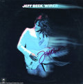 "Music Memorabilia:Autographs and Signed Items, Jeff Beck Signed ""Wired"" Album...."