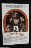 Music Memorabilia:Posters, The Concert for Bangladesh Original 1972 1-Sheet, Style B....