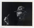Music Memorabilia:Autographs and Signed Items, The Doors: Jim Morrison Signed Photo with Sketch!...