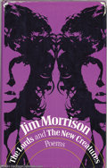 Music Memorabilia:Autographs and Signed Items, The Doors: Jim Morrison Signed Poetry Book - The Lords and the New Creatures (1970)....