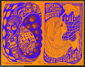 Music Memorabilia:Ephemera, Original 1967 Mailer for Fillmore Concert Series - Jimi Hendrix andThe Who!...