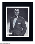 Music Memorabilia:Autographs and Signed Items, Bill Haley Vintage Signed Photograph....
