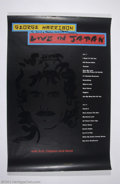 """Music Memorabilia:Autographs and Signed Items, The Beatles: Rare George Harrison Signed """"Live In Japan"""" Poster...."""