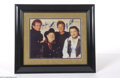 Music Memorabilia:Autographs and Signed Items, The Highwaymen Signed 11 x 14 Photograph....