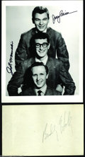Music Memorabilia:Autographs and Signed Items, Buddy Holly Vintage Pencil Signature....