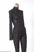 Music Memorabilia:Costumes, Whitney Houston Sexy Stage Worn Bodysuit....