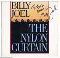 Music Memorabilia:Autographs and Signed Items, Billy Joel Signed Album - The Nylon Curtain (1982)....