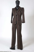Music Memorabilia:Costumes, Elton John Owned & Worn Pinstriped Suit.... (3 Items)