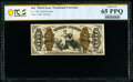 Fractional Currency:Third Issue, Fr. 1343 50¢ Third Issue Justice PCGS Banknote Gem Unc 65 PPQ.. ...