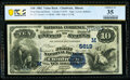 Chadwick, IL - $10 1882 Value Back Fr. 577 The First National Bank Ch. # (M)5619 PCGS Banknote Choice VF 35