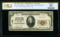 National Bank Notes:New Jersey, Beach Haven, NJ - $20 1929 Ty. 1 Beach Haven National Bank & Trust Company Ch. # 11658 PCGS Banknote Very Fine 25.. ...