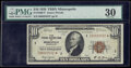 Fr. 1860-I* $10 1929 Federal Reserve Bank Star Note. PMG Very Fine 30