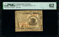 Continental Currency November 29, 1775 $1 PMG Uncirculated 62