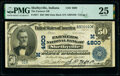 Shelbyville, IN - $50 1902 Date Back Fr. 671 The Farmers National Bank Ch. # (M)4800 PMG Very Fine 25