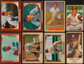 Baseball Cards:Sets, 1952 to 1955 Bowman and Johnston Cookie Baseball Collection (41). ...