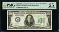Fr. 2202-B $500 1934A Federal Reserve Note. PMG About Uncirculated 55
