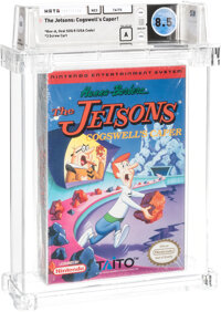 The Jetsons: Cogswell's Caper! - Wata 8.5 A Sealed [Oval SOQ R], NES Taito 1992 USA
