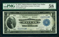Fr. 742* $1 1918 Federal Reserve Bank Star Note PMG Choice About Unc 58