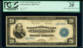 Fr. 827 $20 1915 Federal Reserve Bank Note PCGS Very Fine 20