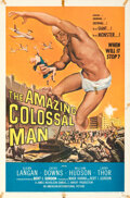 Movie Posters:Science Fiction, The Amazing Colossal Man (American International, 1957). F...