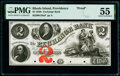 Obsoletes By State:Rhode Island, Providence, RI- Exchange Bank $2 18__ G26a Durand 1296 Proof PMG About Uncirculated 55.. ...