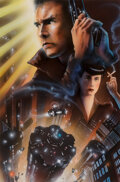 Pulp, Pulp-like, Digests and Paperback Art, John Alvin (American, 1948-2008). Blade Runner, final movie poster study, 1982. Airbrush, gouache, and...