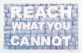 Works on Paper, Peter Tunney (b. 1961). Reach What You Cannot, 2008. Hand stamped work in colors on Archival paper. 26 x 39-1/2 inches (...