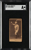 Baseball Cards:Singles (Pre-1930), 1886-87 N172 Old Judge Fred Carroll #69-1 SGC Authentic....