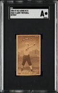 Baseball Cards:Singles (Pre-1930), 1886-87 N172 Old Judge Larry Twitchell (Detroit) #468-3 SGC Authentic....