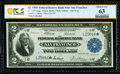 Fr. 779* $2 1918 Federal Reserve Bank Note PCGS Banknote Choice Unc 63