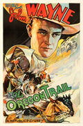 Movie Posters:Western, The Oregon Trail (Republic, 1936). Very Fine- on Linen.