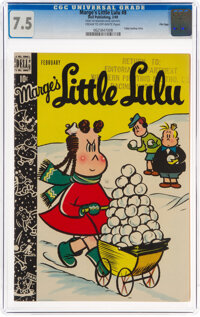 Marge's Little Lulu #8 File Copy (Dell, 1949) CGC VF- 7.5 Cream to off-white pages