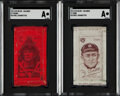 Baseball Cards:Lots, 1911 S74 Silks Collection (5) With Ty Cobb & Cy Young. ...