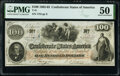 Confederate Notes:1862 Issues, T41 $100 1862 PF-1 Cr. 310 PMG About Uncirculated 50.. ...
